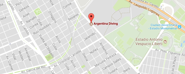 Argentina Diving - Distribuidor Hollis en Argentina